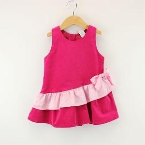 (MYBEAR)MYBEAR girl series shiny vest dress (Pink)