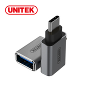(UNITEK)UNITEK were superior to USB3.1Type-C switch USB3.0 adapter (gray / silver)