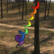 [TAITRA] Camping Colorful Children Fun Outdoor 7-Color Wind Strips