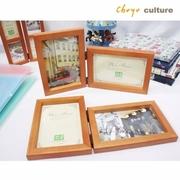 Chuyuculture กรอบรูปไม้ ขนาด (4 x 6 นิ้ว)