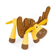 [Janod, ฝรั่งเศส] Classic Design Wood Play - Big Horn Elk