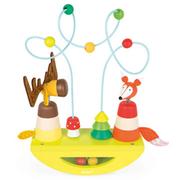 [France Janod] การออกแบบไม้คลาสสิกเล่น - Baby Shake Maze