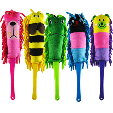 Kawai animal dusting brush / 5 color options