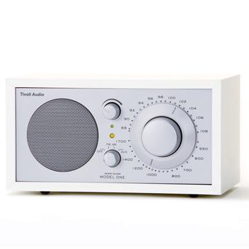 Tivoli Audio-Model หนึ่ง (สีขาว) วิทยุ AM / FM แบบตั้งโต๊ะ