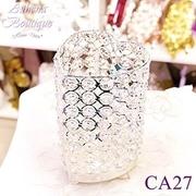 (Athena)Athena Furnishings] [? romantic love crystal candlestick (19cm high)