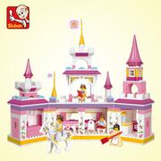 (ALBATROSS)[Albatross] happy little Luban building blocks - Princess Fantasy Castle (YW-SLB0251)