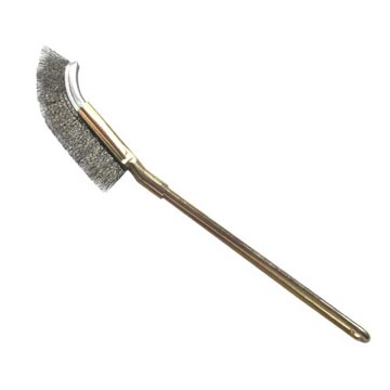 [TAITRA] Iron Handle Curved Hand Brush - Wire