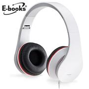 [TAITRA]  E-books G3 หูฟังแบบครอบหูพร้อมไมค์แบบพับได้ คุณภาพเสียงดี