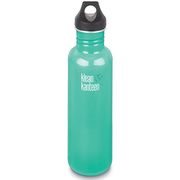 (Klean kanteen)US Klean Kanteen stainless steel bottle 800ml- blue tide
