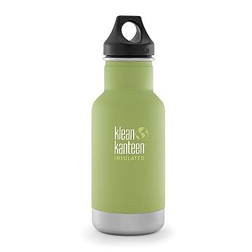 (Klean Kanteen) กระบอกน้ำเก็บอุนหภูมิ จากสหรัฐอเมริกา รุ่นคลาสสิก 355มล. - เขียวใบไผ่