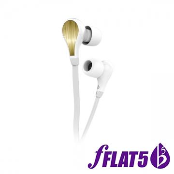 (fFLAT5)fFLAT5 Forte One series in-ear headphones ear headphones - Snow White