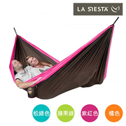 (LA SIESTA)LA SIESTA COLIBRI Lightweight Double travel hammock CLH20-7 Fuchsia purple