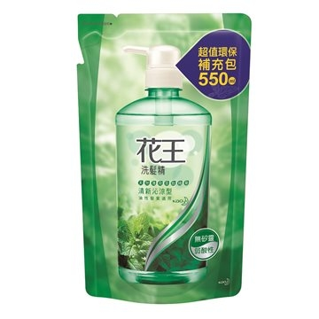 (花王)Kao shampoo - fresh and refreshing cream package 550ml