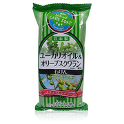 Bath stone natural vegetable base soap - Eucalyptus & fragrant olive 100gx3p