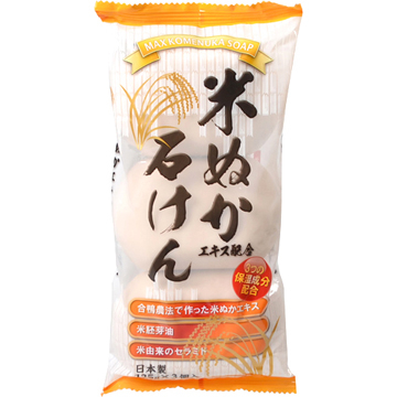 (MAX)Japan MAX rice bran into germ soap 135g * 3