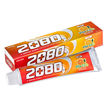 (2080)[2080] Q10 Vitamin toothpaste (120g) X2 into