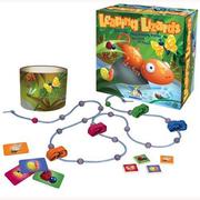 (Kanga Games)European and American Nobel children's educational toys board games Leaping Lizards lizards foraging