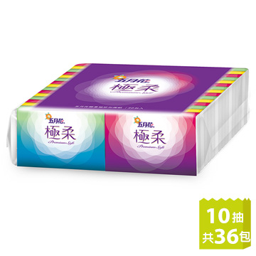 [TAITRA] [May Flower] Extreme Soft Pocket Tissue (10 Sheets/Pack x 36 Packs)