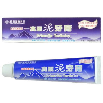 [TAITRA] Chang Gung Biotechnology Corporation Primordia Clay Tooth Paste (120g / Piece)