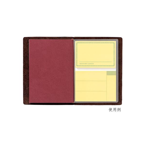 "(Midori)Midori ""Traveler's Notebook"" passport-sized accessories / sticky"