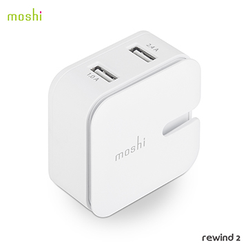 [TAITRA] Moshi Rewind 2 High Efficiency Dual Port Charger