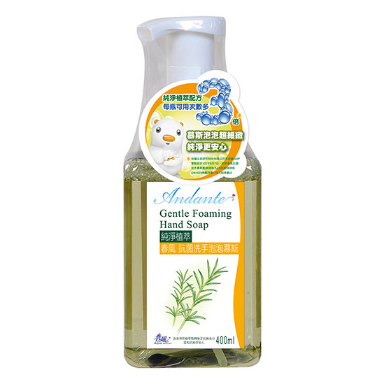 [TAITRA] Andante Gentle Foaming Hand Soap (400ml)