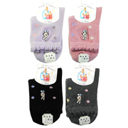 [TAITRA] PeterRabbit Embroidered Small Children Socks -SK5712-2 Pax