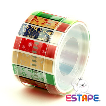 [TAITRA] 【Seal King】Easy-Remove ESTAPE (Drawing-Type OPPTape /Carnival Stickers)