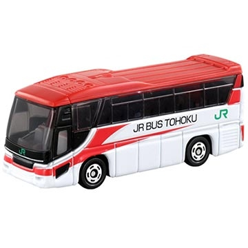 TOMICA รถสวย NO.072 Hino รถบัส JR ตะวันออกเฉียงเหนือ