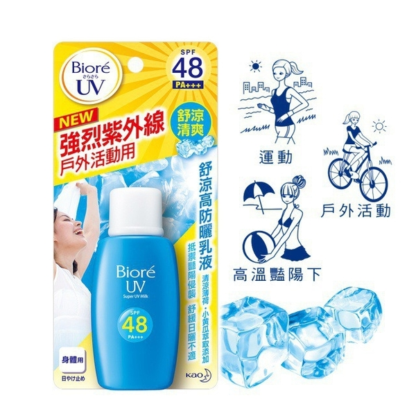 Biore โลชั่นกันแดด Biore Honey Cooling SPF48 / PA +++