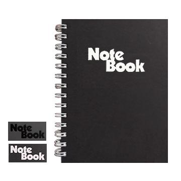 32K black loose-leaf notebook