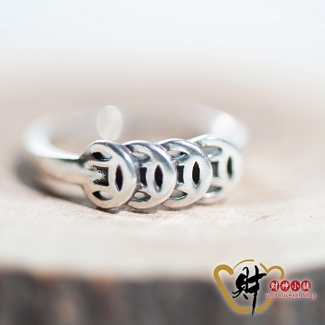 """""""[TAITRA] Wealth Guardian Ring (925 Sterling Silver) Adjustable Ring """"""""Blessed"""""""" God of Wealth Shop [RS-004] Powerful Wealth Gathering - Must Buy"""""""