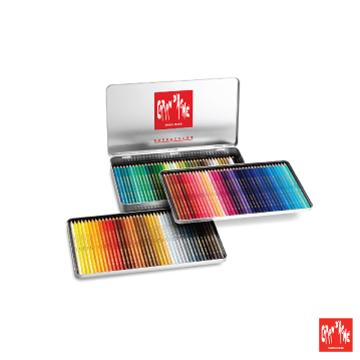 CARAN d'ACHE- ชุดดินสอสีที่ละลายน้ำได้ 120 สี