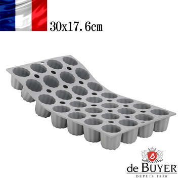 "(de Buyer)France de Buyer] [Baking Verbier ""global patent silicon metal pan series"" 28 into the mini gel French crepes pan"