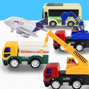 [TAITRA] [Mario Toys] Worldwide Transportation Collection (6 Pieces)