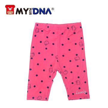 (MY+DNA)[Part] MY + DNA Bear Leggings kittens printing short - watermelon red (D2175-18)