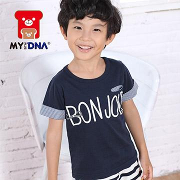 (MY+DNA)[MY + DNA Bear headquarters] BONJOUR shirt - Joe Green (D2111-58)