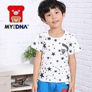 [MY + DNA Bear Head] Star Patchwork Top - Beibai (D2107-82)