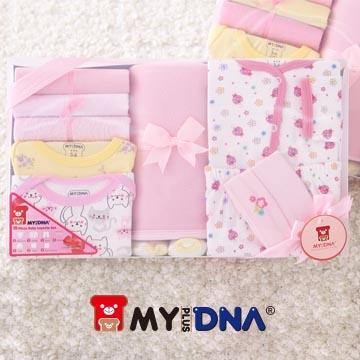 [TAITRA] 【MY+DNA】 เซตเสื้อผ้าทารก(10 ชิ้น/Set) -สำหรับเด็กผู้หญิง วัสดุผ้าฝ้ายแท้ 100%