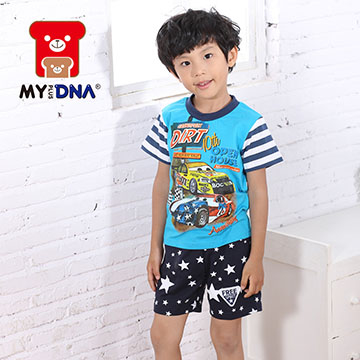 (MY+DNA)[MY + DNA Bear Racing Division] handsome shirt - light blue (D2113-50)