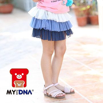 (MY+DNA)[MY + DNA Bear headquarters] Graded cake skirt - Zhang Qing (D2173-58)