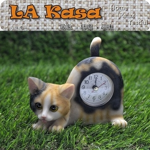 [TAITRA] La Kasa ~ Simulation of cute animal treatments Series - Timer, wiggle on the table - flower cat