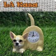[TAITRA]  La Kasa ~ ชุดจำลองการรักษาสัตว์น่ารัก - จับเวลากระดิกหางบนโต๊ะ - ชิวาวา