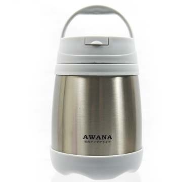 [TAITRA] AWANA Portable Thermal Cooker Pot 500ML (Stainless Steel Color)