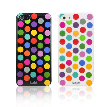 (Kalo)Kalo card music creativity painted style iPhone 5 protective shell - color little series