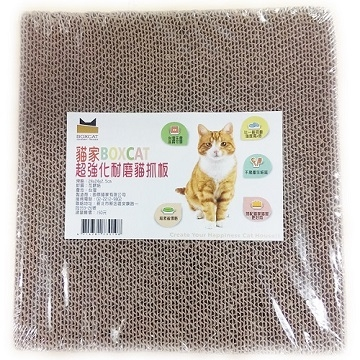 [TAITRA] ☆ iInternational Cat House ☆ BOXCAT Super Wear-resistant Cat Scratching Board