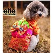 (PET)Pet clothes kawaii series (Korean national) navy blue