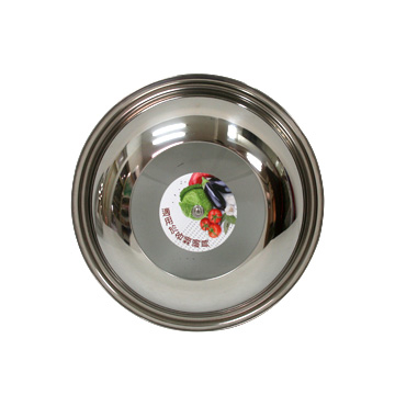 Respect & tin (30CM) hollow cover wok