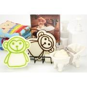 [TAITRA] Soft Power Therapeutic Fluffy Elastic Bath Sponge /Monkey