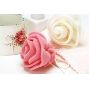 (KEYTOSS)i SPA no sense exfoliating sponge bath - Rose